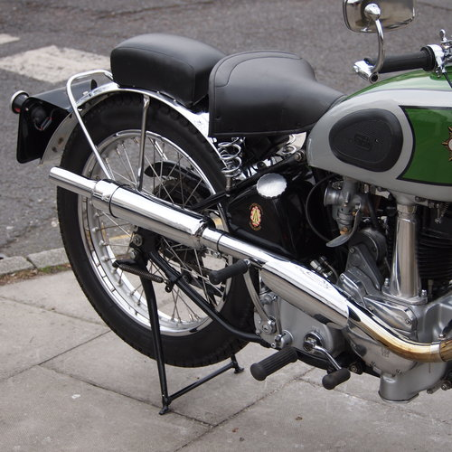 1938 BSA B24  O.H.V. With B25 350cc Competition Engine. For Sale (picture 5 of 6)