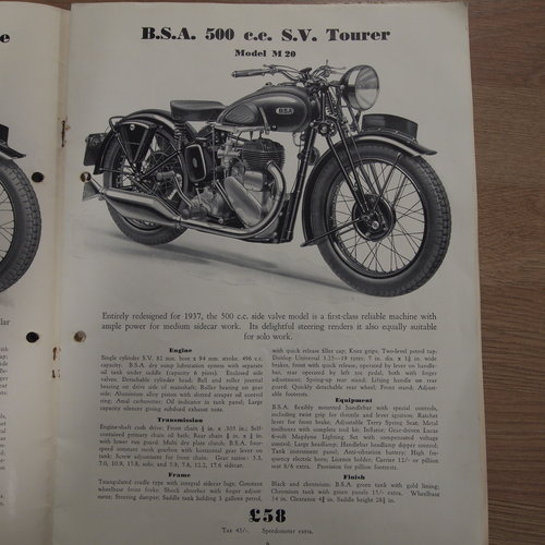 1938 M20 500cc Old Restoration, RESERVED FOR JR. SOLD (picture 2 of 6)