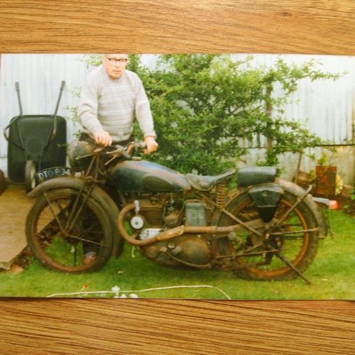 1937 BSA B24 O.H.V. 350cc RESERVED FOR RICHARD. SOLD (picture 6 of 6)