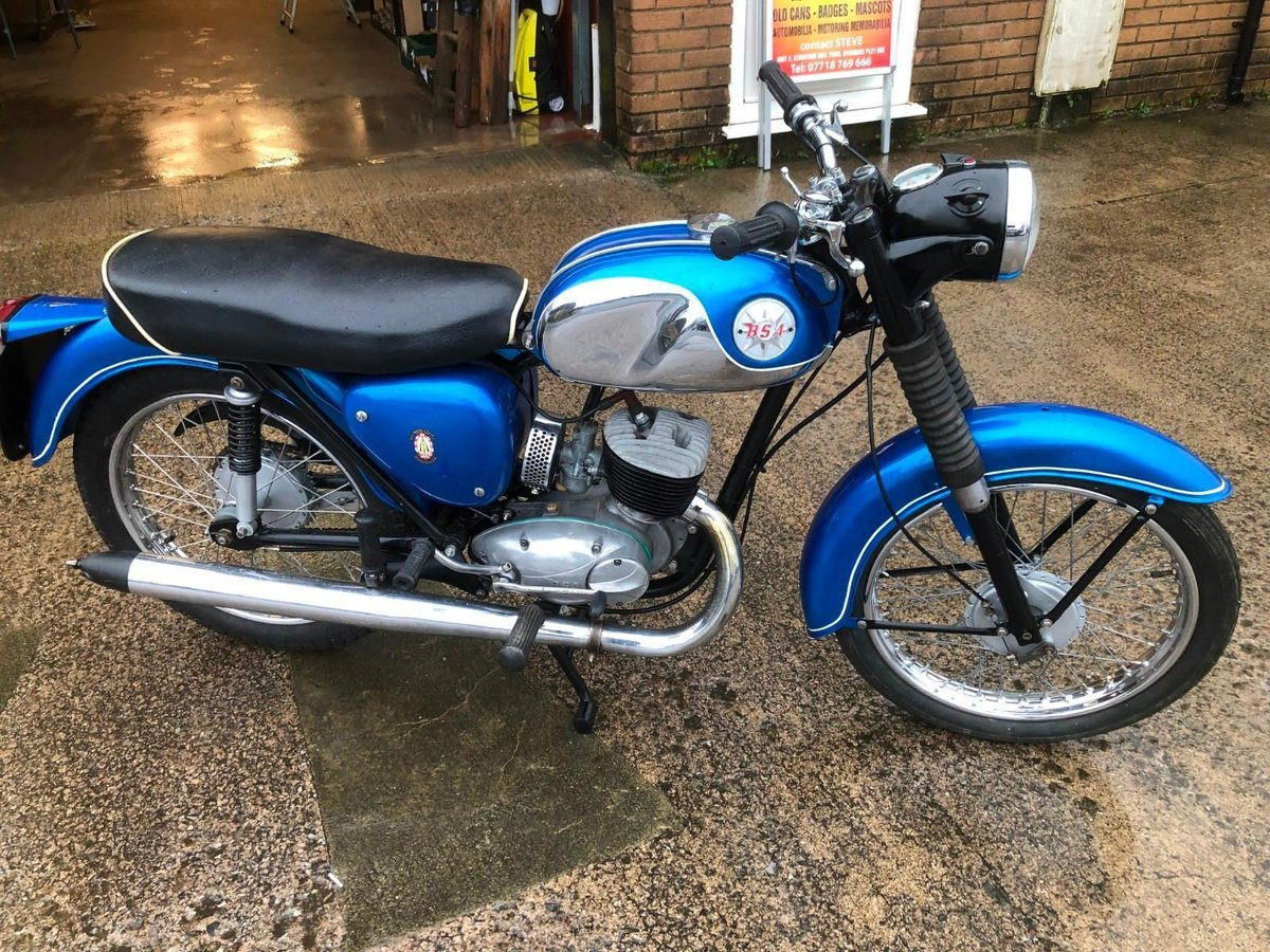 BSA BANTAM B175 MAUFACTURED 1970 For Sale (picture 1 of 6)