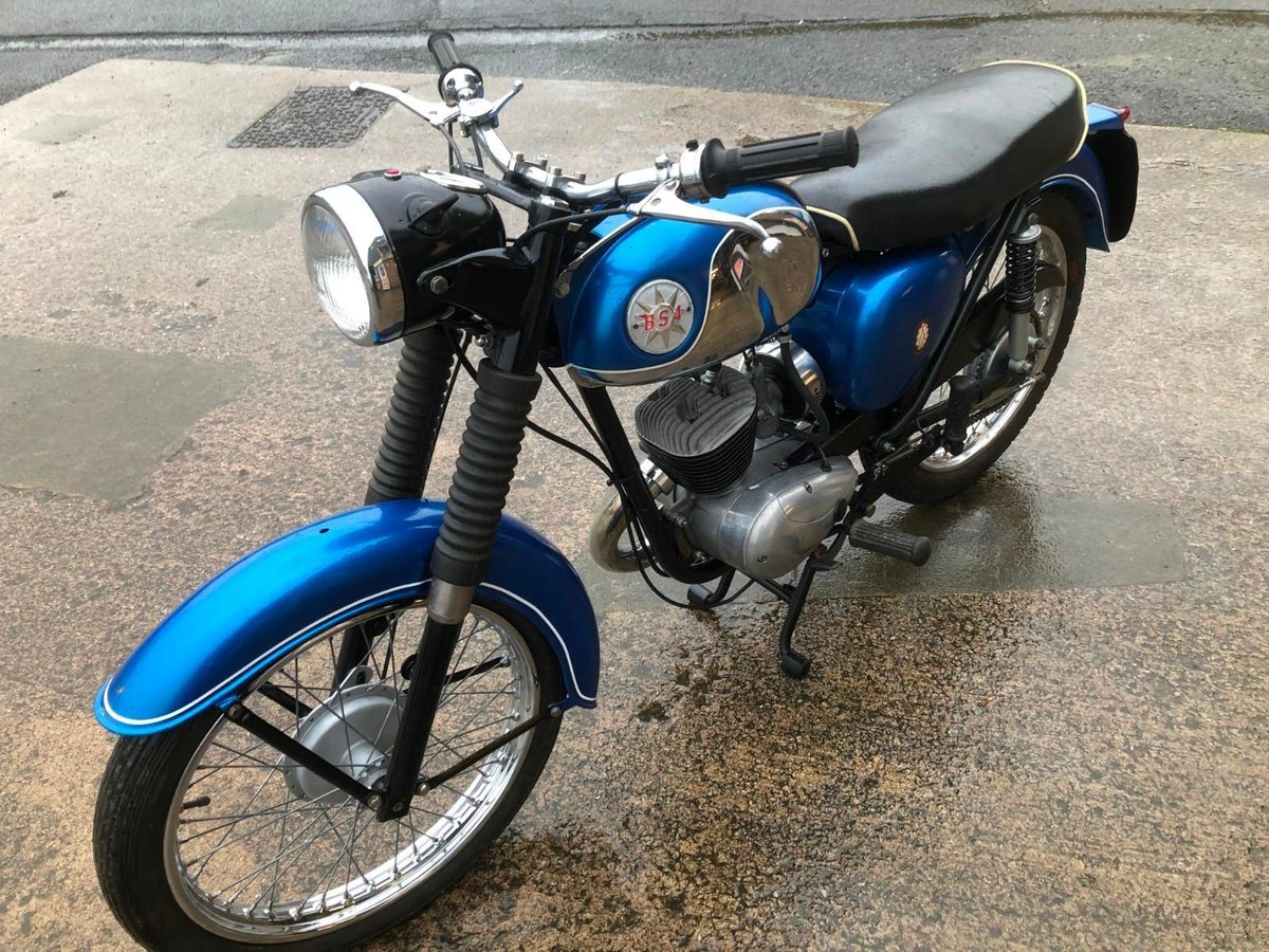 BSA BANTAM B175 MAUFACTURED 1970 For Sale (picture 3 of 6)