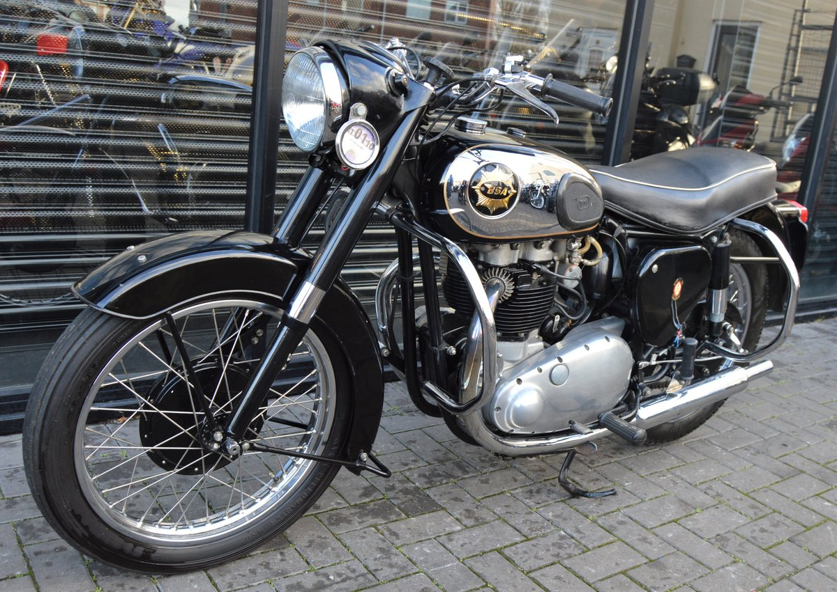 1955 BSA A10 650cc GOLDEN FLASH / GOLD FLASH For Sale (picture 1 of 1)
