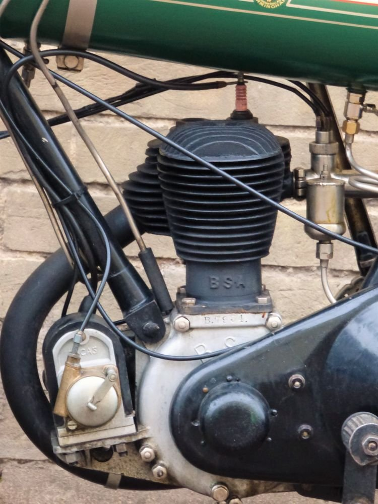 1925 BSA B25 Round Tank 250cc SOLD (picture 4 of 6)