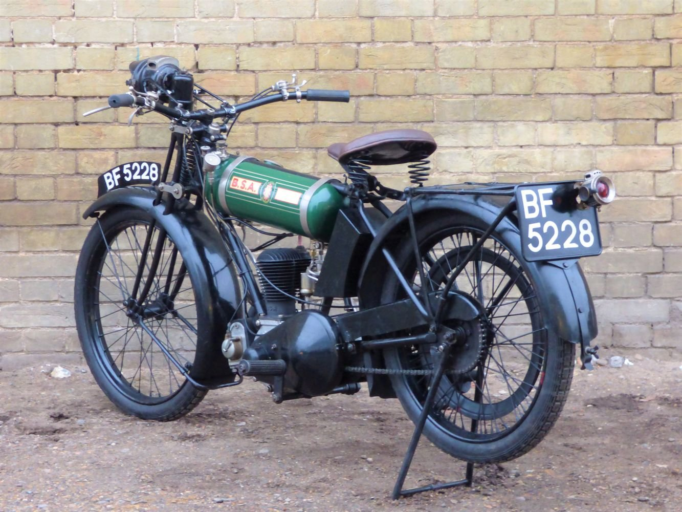 1925 BSA B25 Round Tank 250cc SOLD (picture 5 of 6)