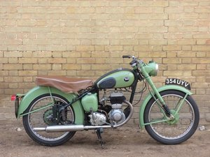 1954 BSA C10L 250cc SOLD
