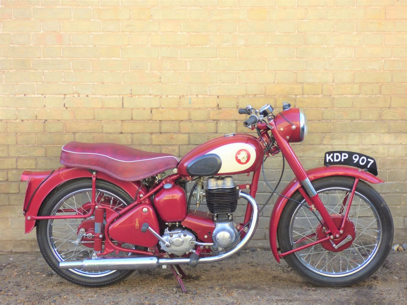 1955 BSA C11G 250cc SOLD (picture 1 of 6)