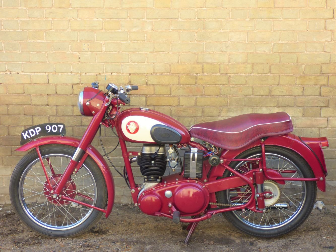 1955 BSA C11G 250cc SOLD (picture 2 of 6)