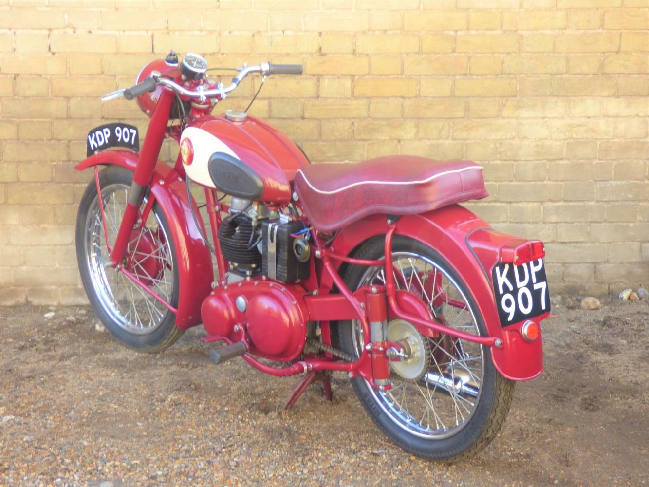 1955 BSA C11G 250cc SOLD (picture 5 of 6)