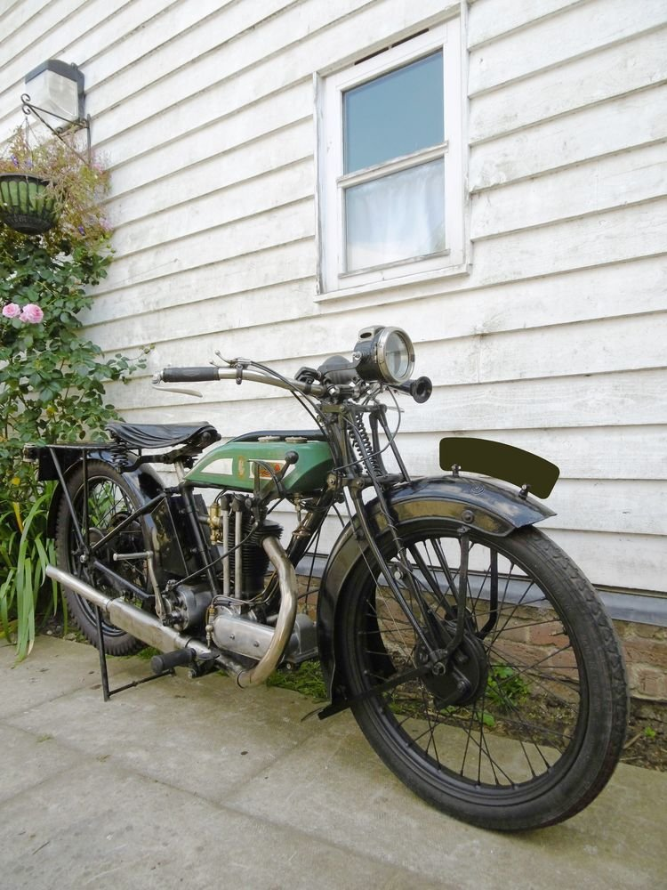 1927 BSA L27 OHV 350cc For Sale (picture 6 of 6)