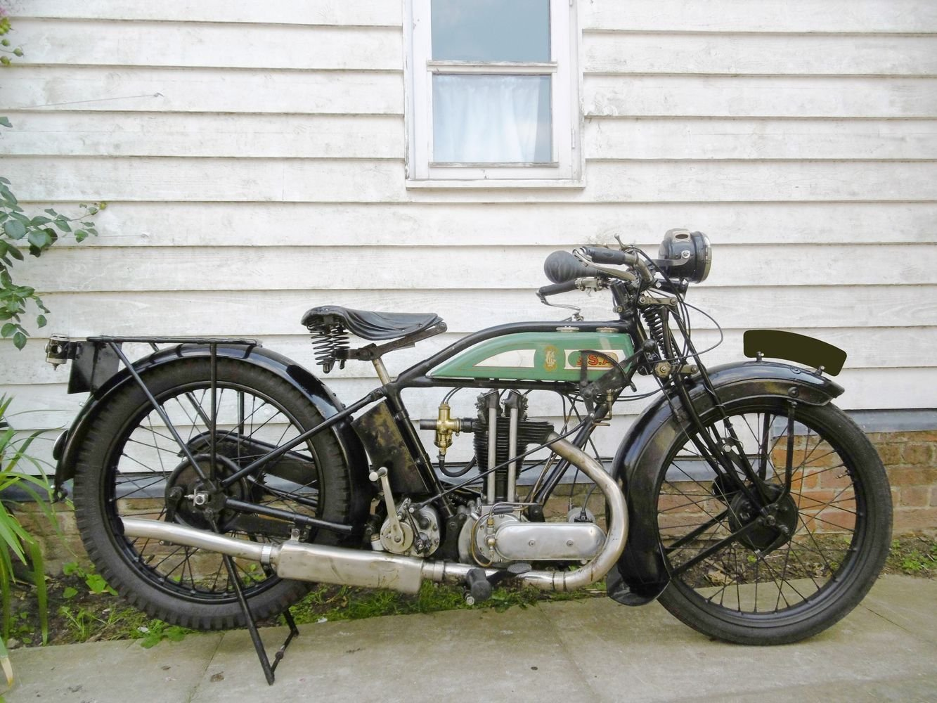 1927 BSA L27 OHV 350cc For Sale (picture 1 of 6)