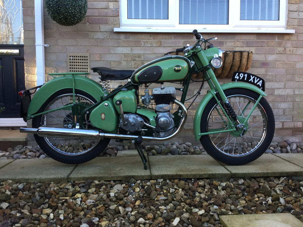 1955 BSA C10L SOLD (picture 1 of 6)