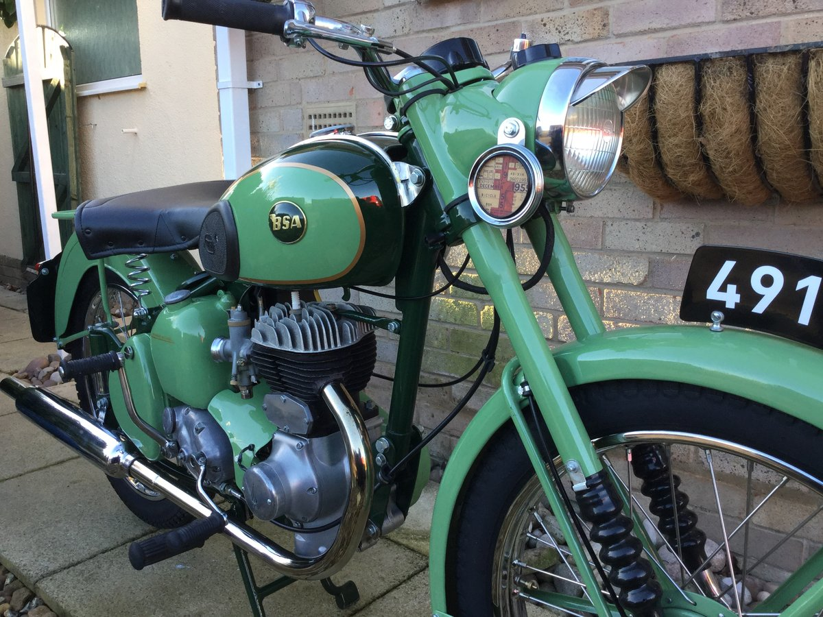 1955 BSA C10L SOLD (picture 4 of 6)