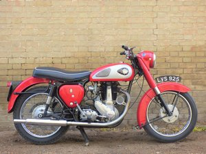 1957 BSA B31 350cc SOLD