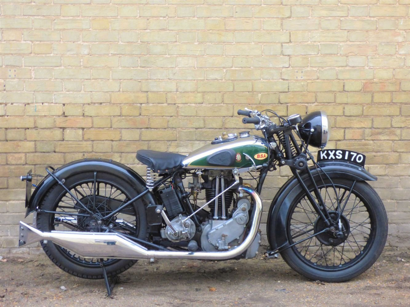 1934 BSA W7 500cc SOLD (picture 1 of 6)