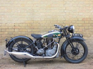 1934 BSA W7 500cc SOLD