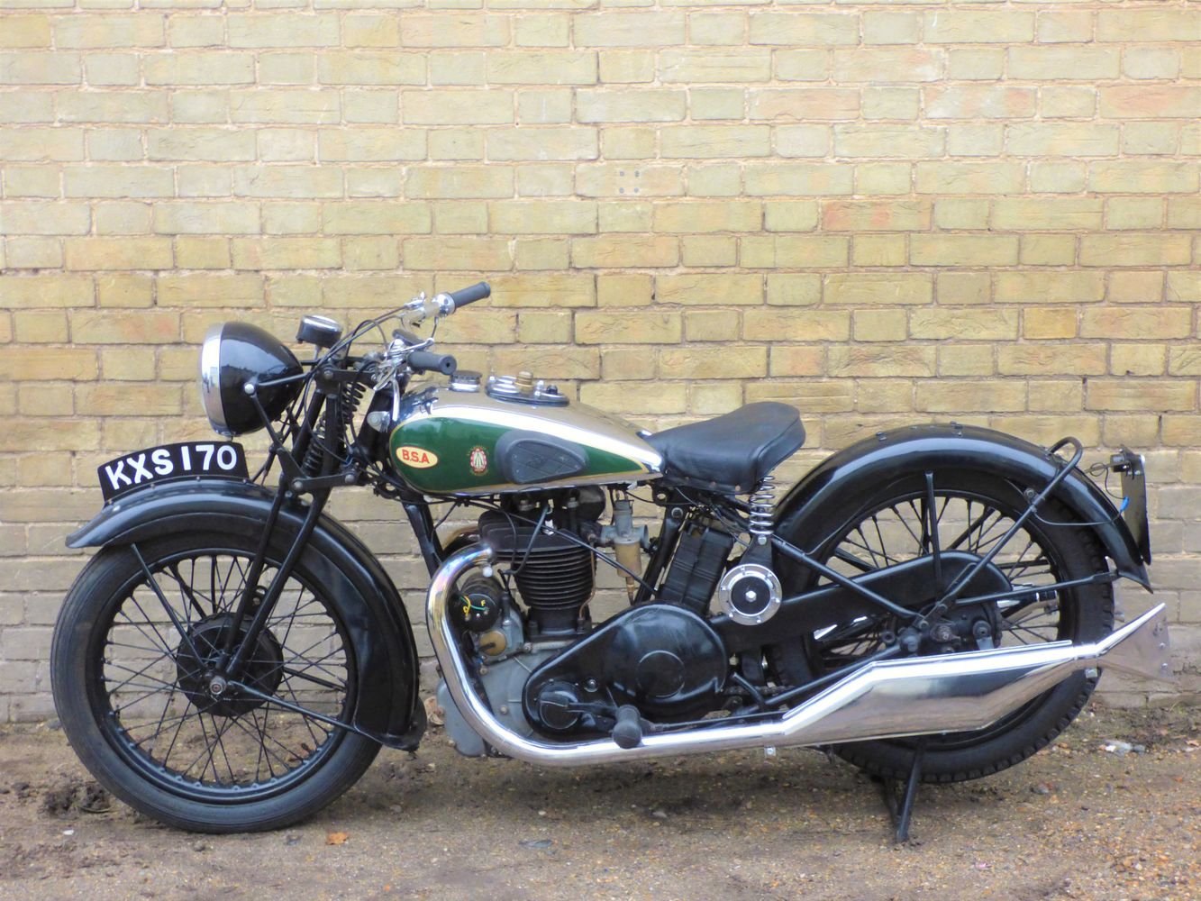 1934 BSA W7 500cc SOLD (picture 2 of 6)