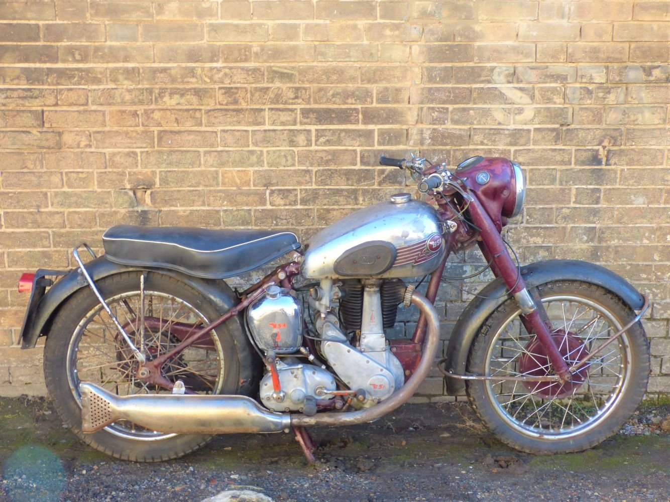 1953 BSA B33 500cc For Sale (picture 1 of 6)