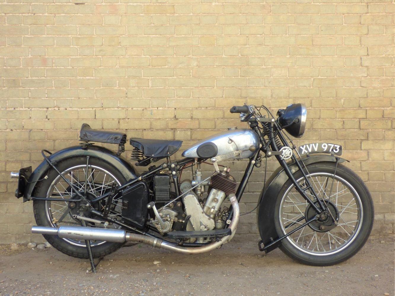 1931 BSA Side Valve Sloper 557cc For Sale (picture 1 of 6)