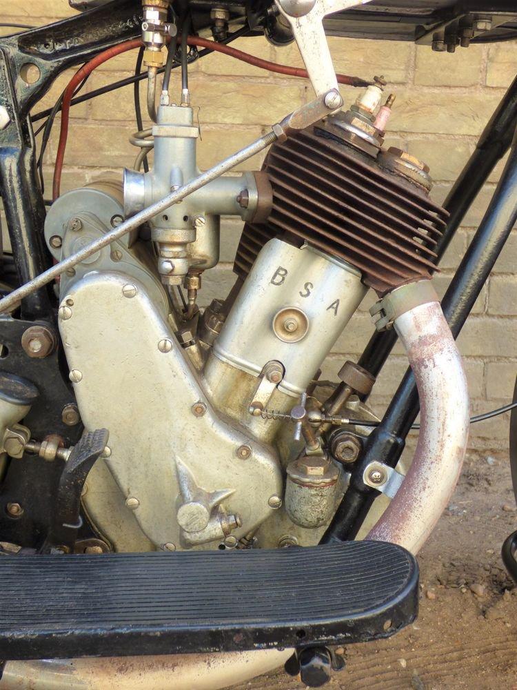 1931 BSA Side Valve Sloper 557cc For Sale (picture 3 of 6)