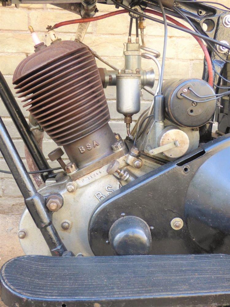 1931 BSA Side Valve Sloper 557cc For Sale (picture 4 of 6)
