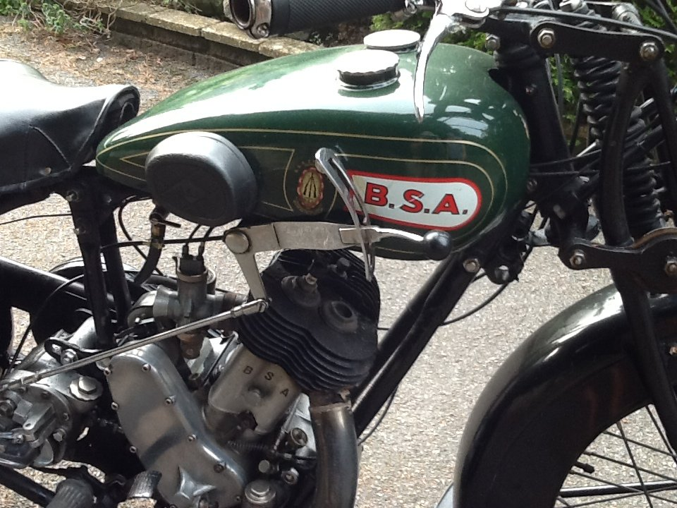 """Very Desirable 1930  BSA H30-8 Deluxe """"Sloper"""" For For Sale (picture 2 of 6)"""