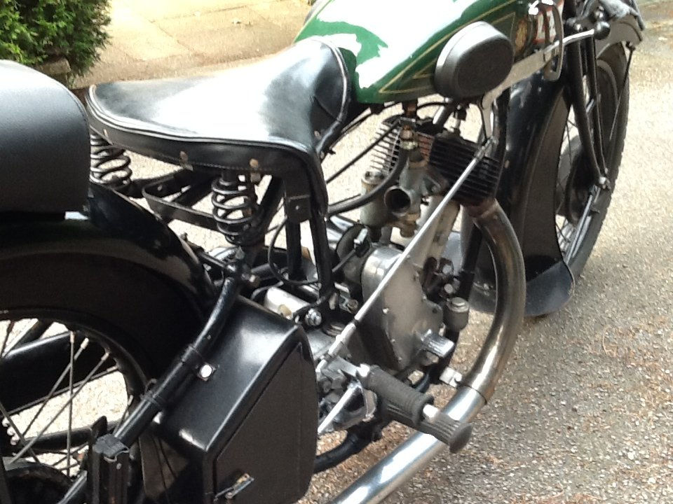 """Very Desirable 1930  BSA H30-8 Deluxe """"Sloper"""" For For Sale (picture 3 of 6)"""
