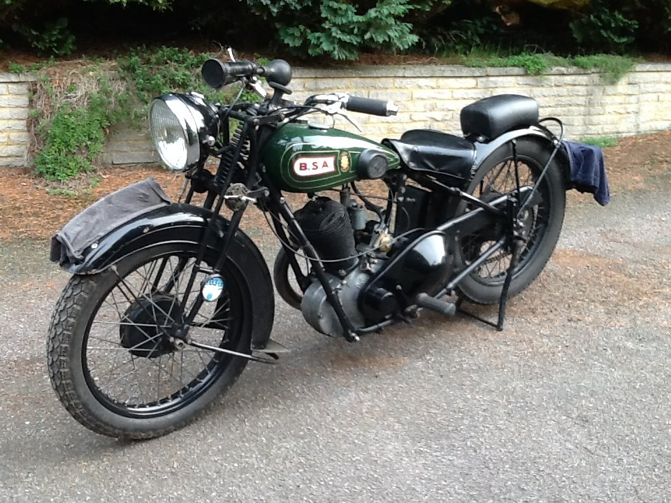 """Very Desirable 1930  BSA H30-8 Deluxe """"Sloper"""" For For Sale (picture 5 of 6)"""