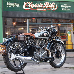 1933 BSA W33/6 499cc 3 Speed Hand Gears, Pure Art. For Sale