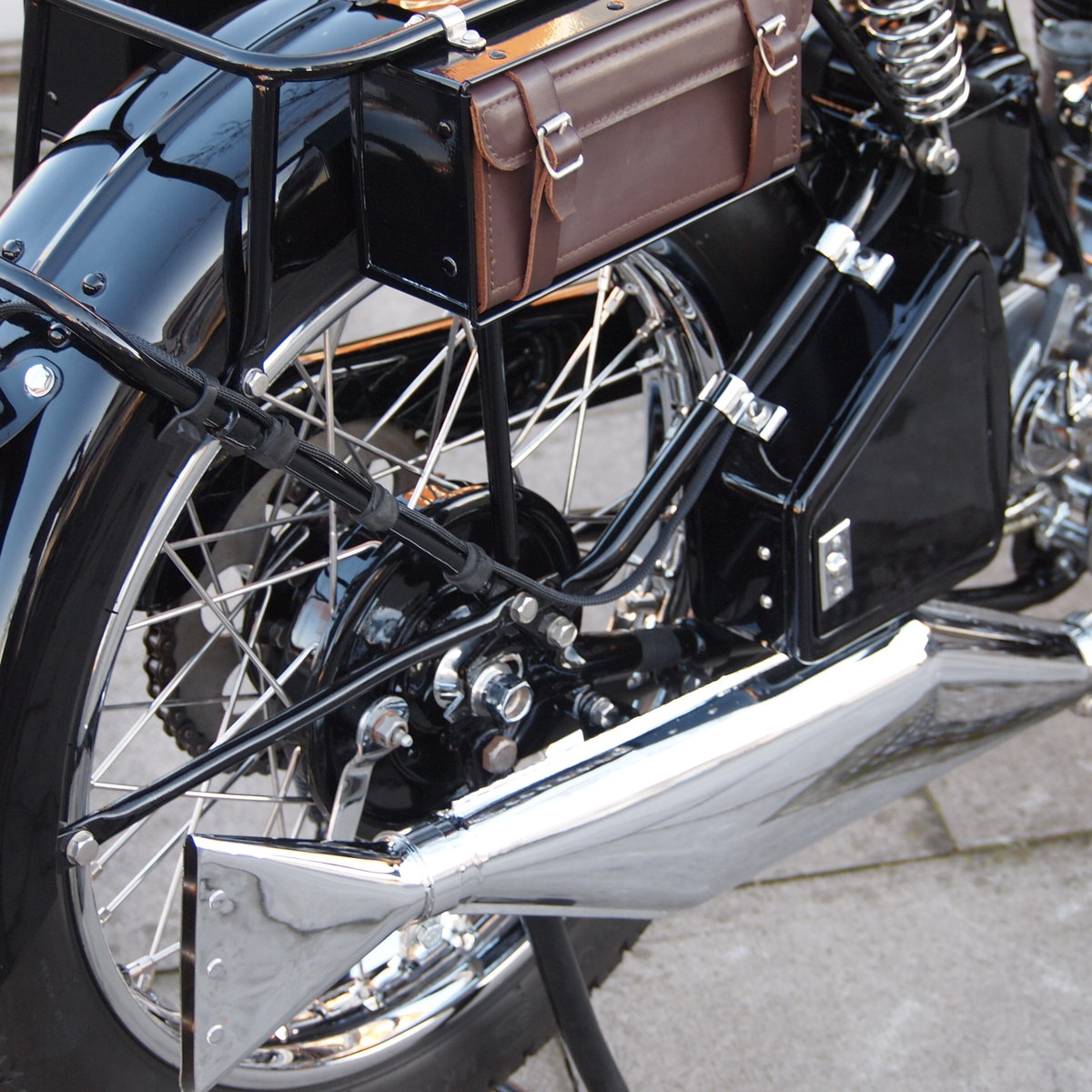 1933 BSA W33/6 499cc 3 Speed Hand Gears, Pure Art. For Sale (picture 5 of 6)