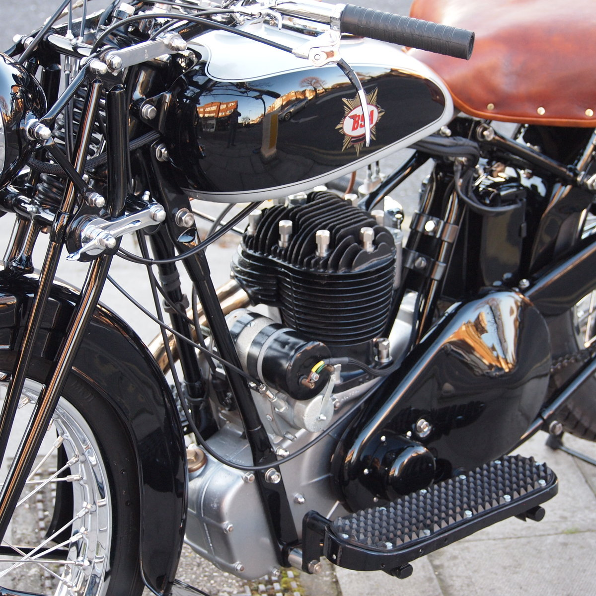 1933 BSA W33/6 499cc 3 Speed Hand Gears, Pure Art. For Sale (picture 6 of 6)