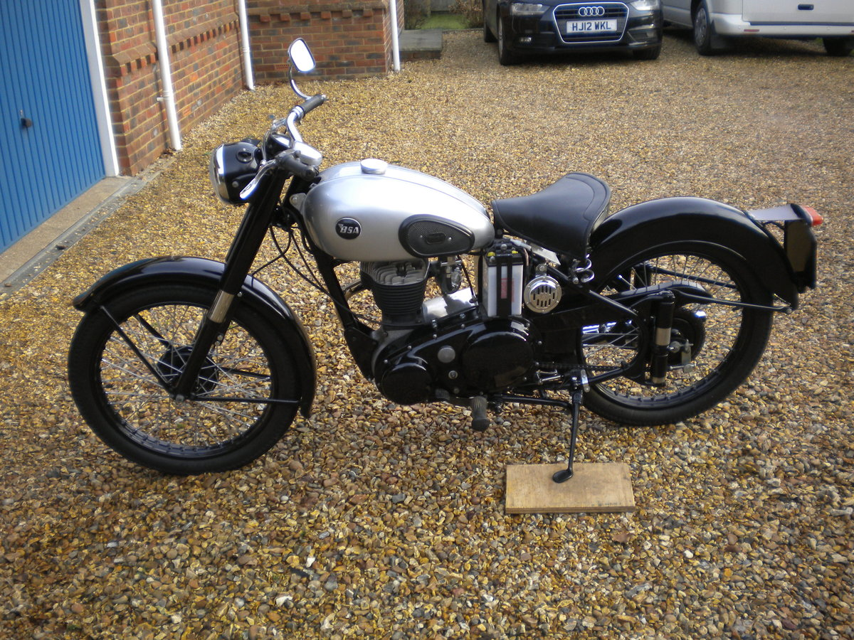 1956 BSA C10L Restored in 2014 For Sale (picture 1 of 5)