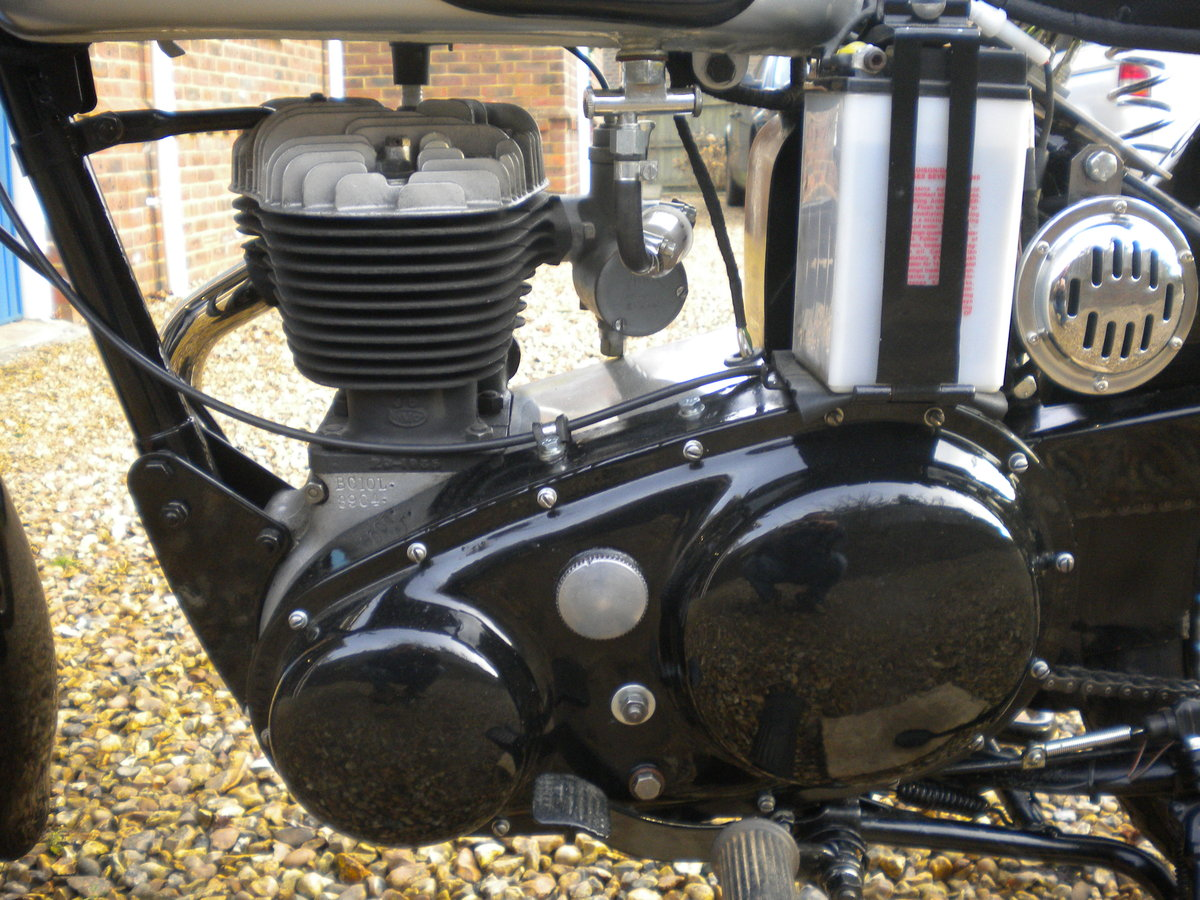 1956 BSA C10L Restored in 2014 For Sale (picture 4 of 5)