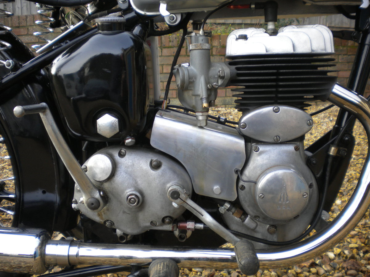 1956 BSA C10L Restored in 2014 For Sale (picture 5 of 5)