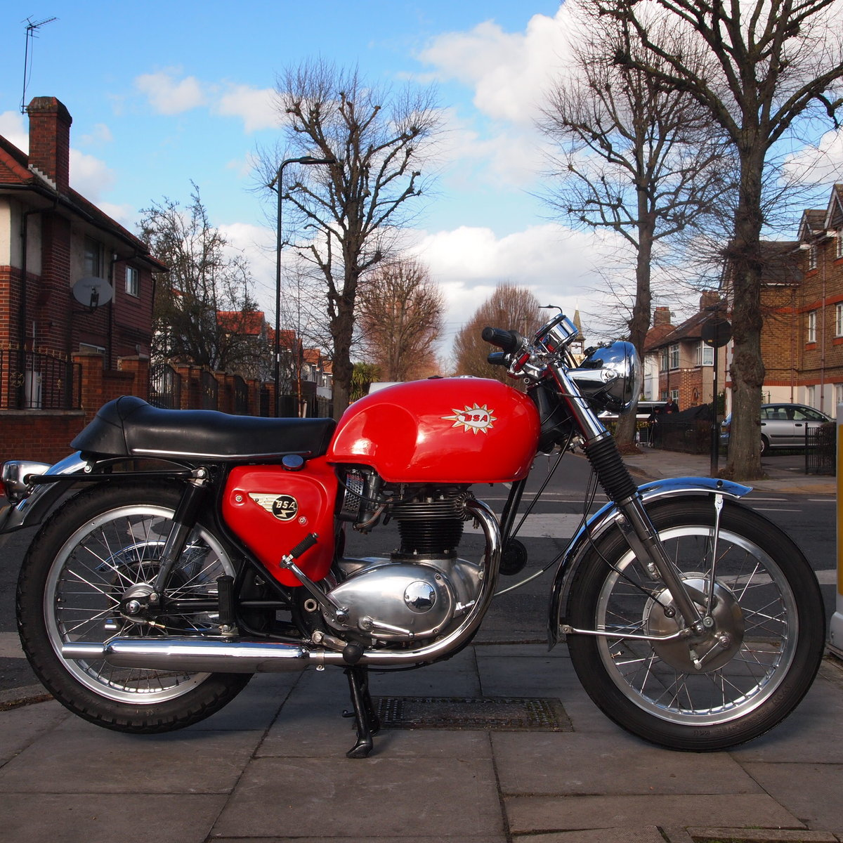 1967 BSA A65S Spitfire mk2, Matching Numbers, Nice Machine. SOLD (picture 1 of 6)