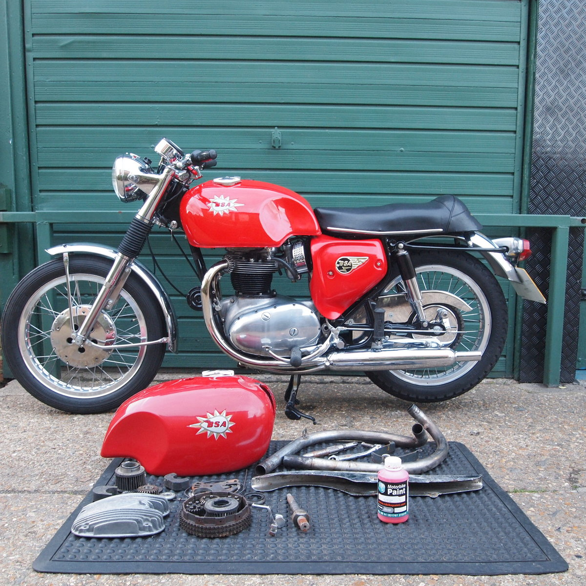 1967 BSA A65S Spitfire mk2, Matching Numbers, Nice Machine. SOLD (picture 3 of 6)