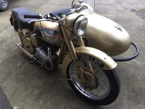 1956 BSA Golden Flash at Morris Leslie Auction 23rd February SOLD by Auction