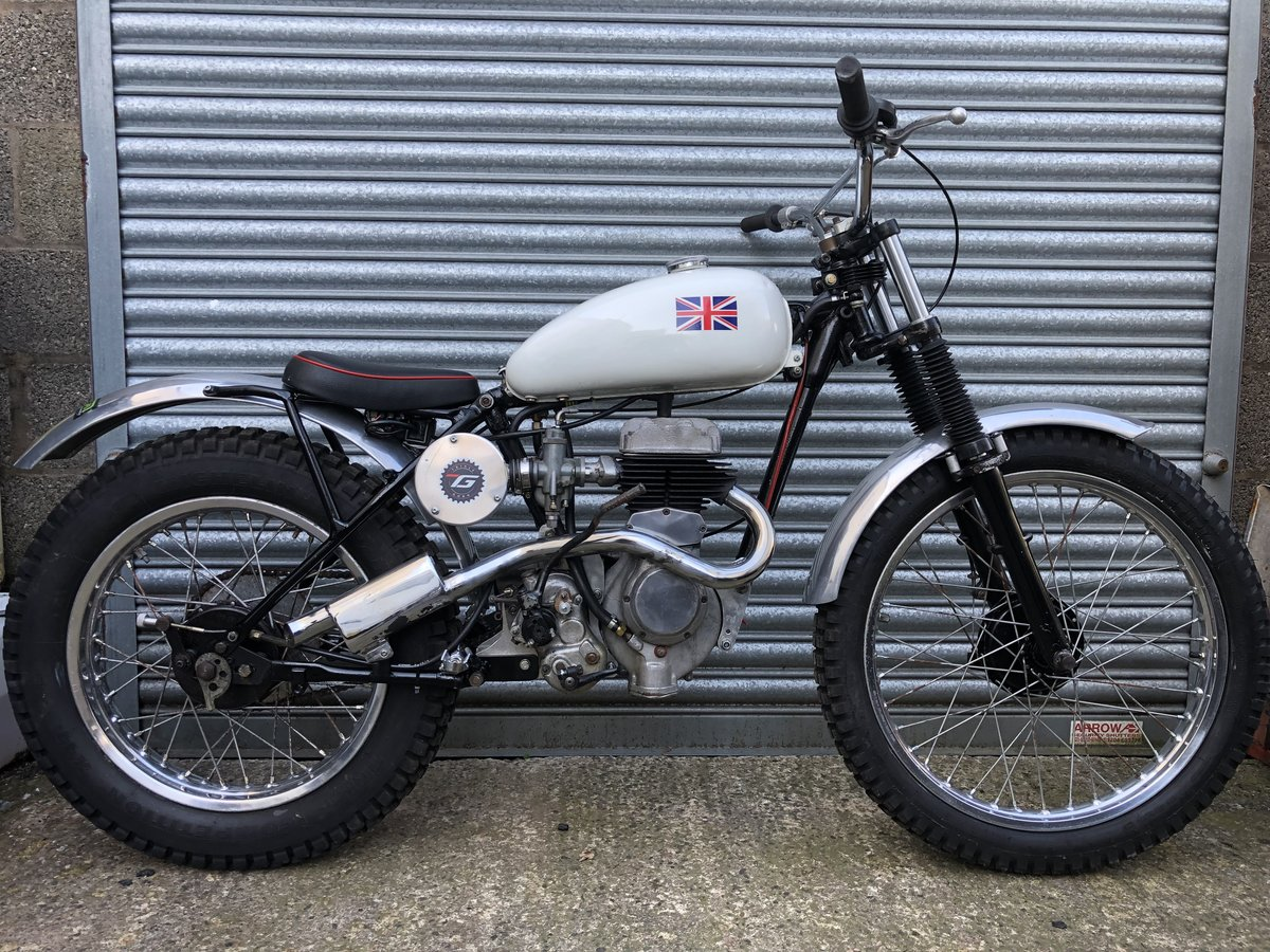 1955 BSA C10 VILLIERS RIGID TRIALS PRE 65 ACE RUNNER £4295 ONO PX For Sale (picture 1 of 4)