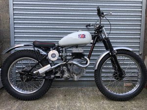 1955 BSA C10 VILLIERS RIGID TRIALS PRE 65 ACE RUNNER £4295 ONO PX For Sale