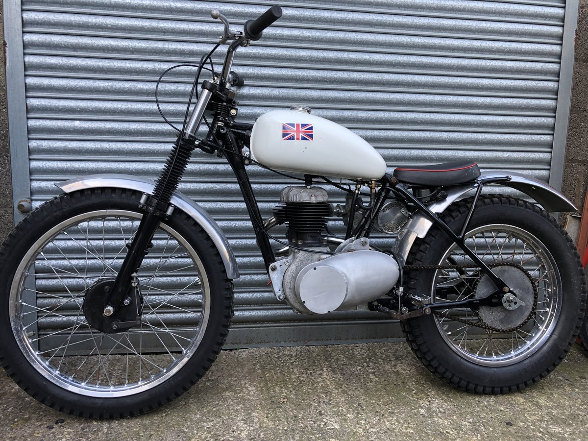 1955 BSA C10 VILLIERS RIGID TRIALS PRE 65 ACE RUNNER £4295 ONO PX For Sale (picture 2 of 4)
