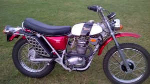 1971 BSA B25 T Victor  For Sale