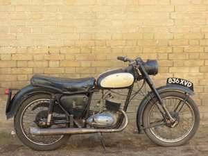 1958 BSA Bantam D5 175cc SOLD