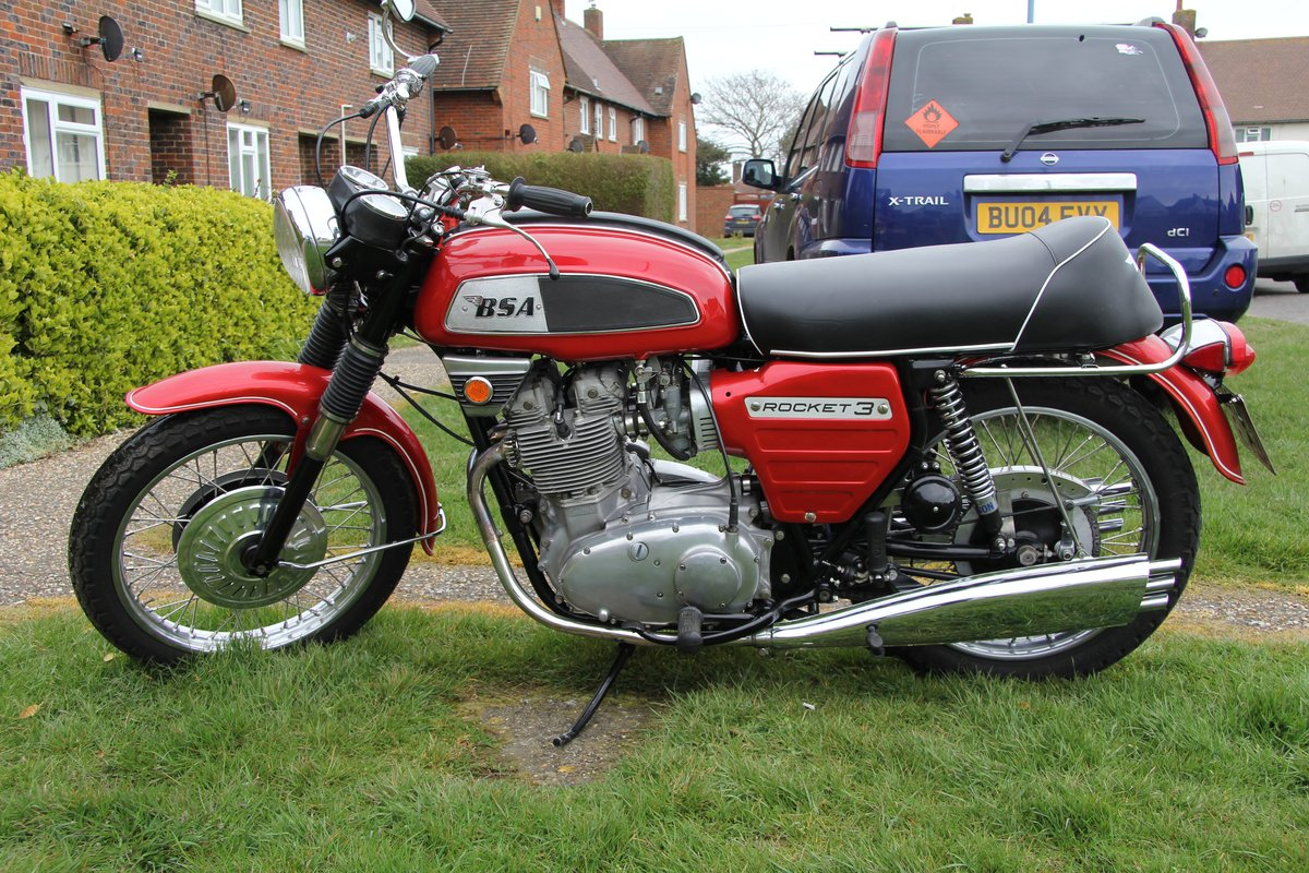 1969 Bsa rocket 3 a75 mk1 For Sale (picture 2 of 5)