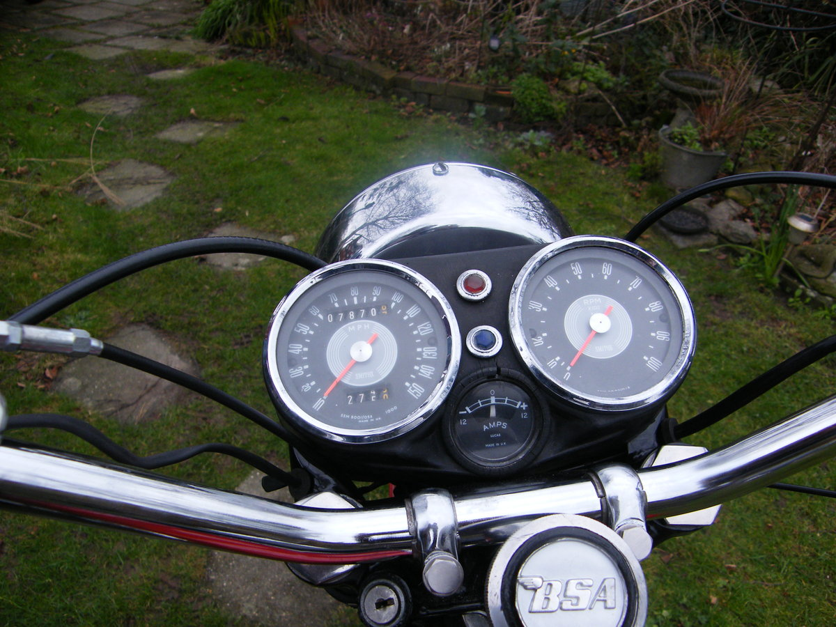 1969 Bsa rocket 3 a75 mk1 For Sale (picture 5 of 5)