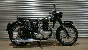 1949 BSA 500cc STAR TWIN RESTORED TO A7 SPECIFICATION
