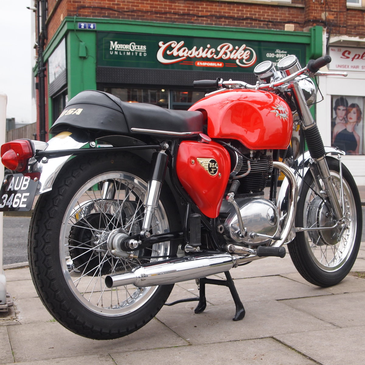 1967 BSA A65S Spitfire mk2, Matching Numbers, Nice Machine. SOLD (picture 4 of 6)
