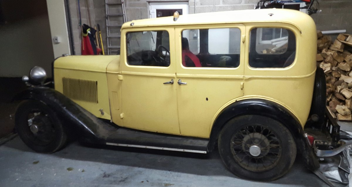 1934 BSA 10 hp 4 door SOLD (picture 1 of 1)