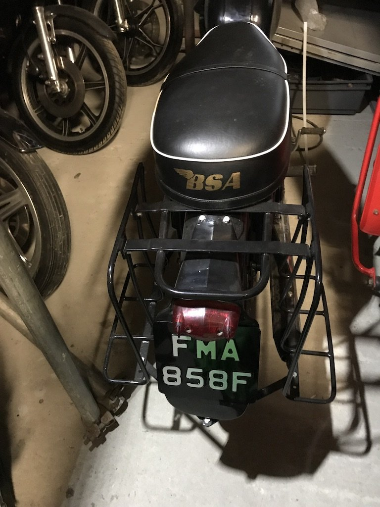 1967 BSA Bantam D13 Matching Chassis & Engine Numbers For Sale (picture 2 of 6)