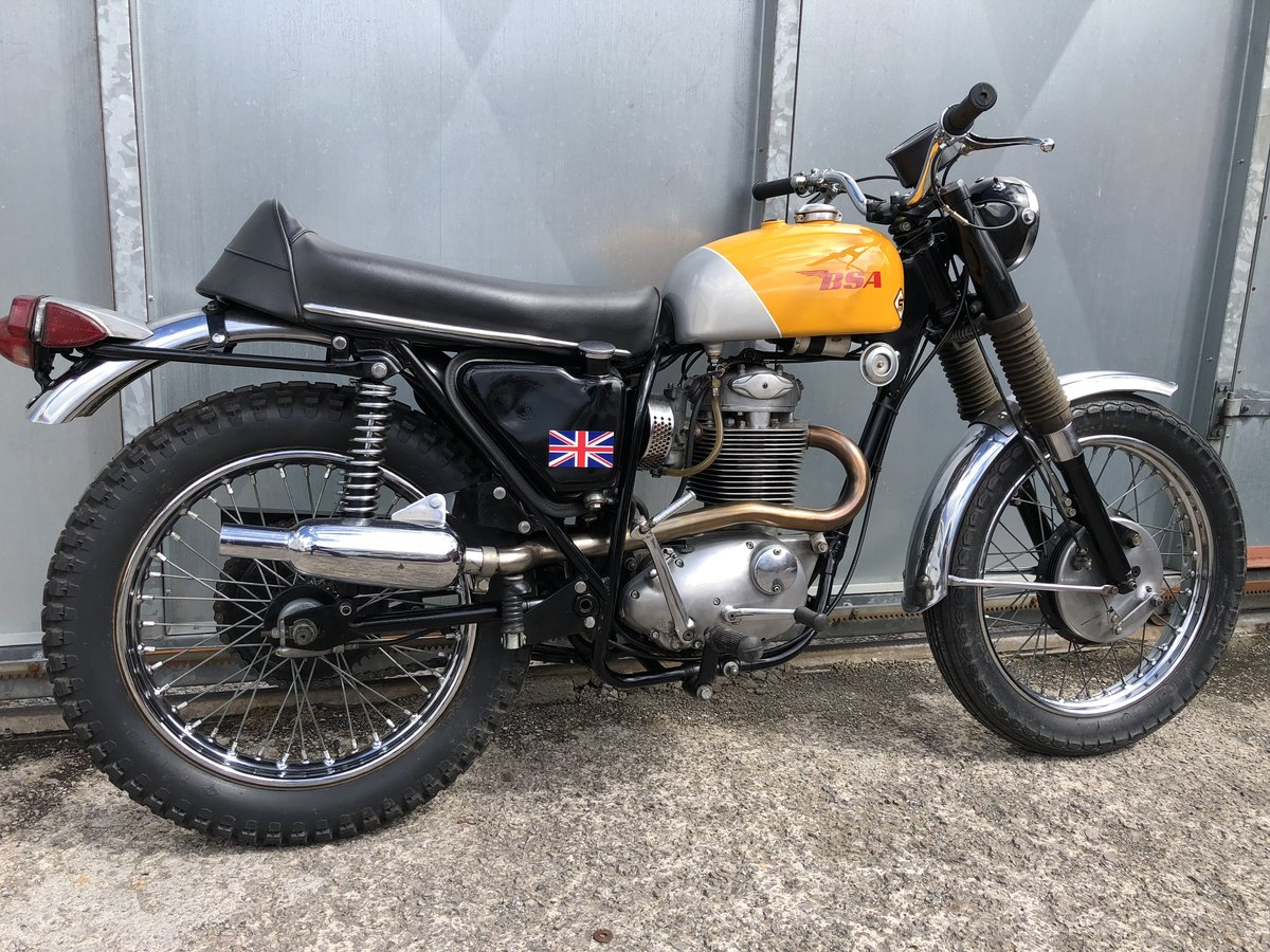 1968 BSA 441 VICTOR CLASSIC TRAIL TRIAL PRE 65 £4995 OFFERS PX  For Sale (picture 4 of 6)