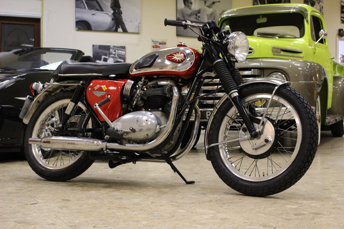 1966 BSA 650 Lightning (A65) | Original Numbers Matching SOLD (picture 2 of 6)