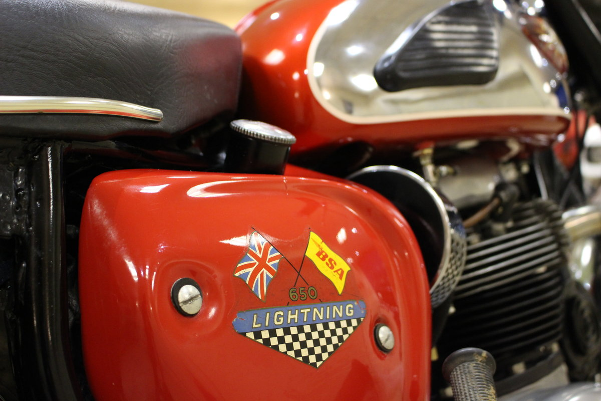 1966 BSA 650 Lightning (A65) | Original Numbers Matching SOLD (picture 6 of 6)